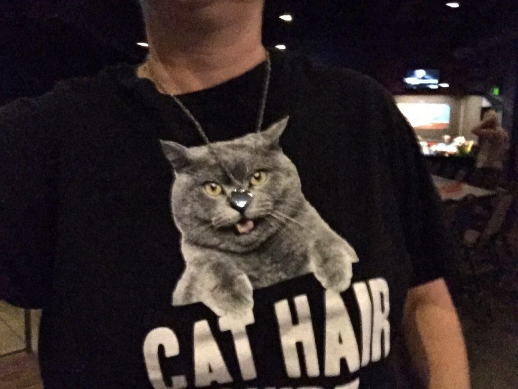 Cat tshirt at Cat Videos Live