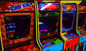 Eighties Arcade Games