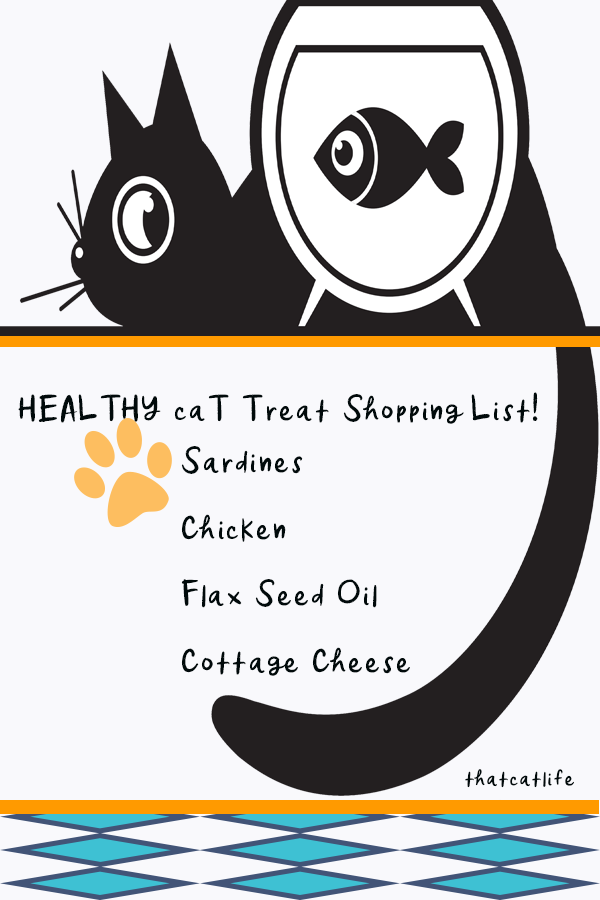 Healthy Cat Treats Shopping List