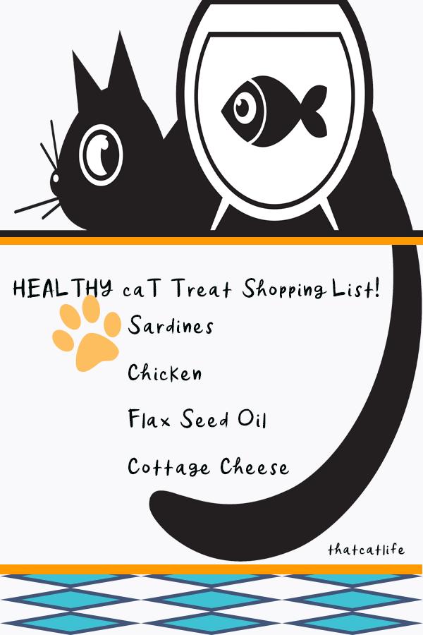 Healthy Cat Treats Shopping List