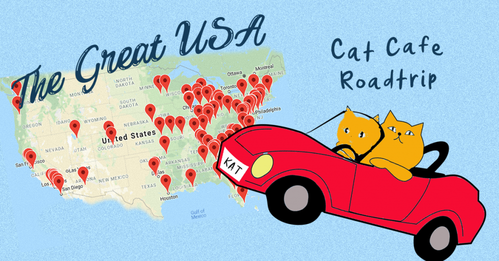Cat Cafe Map