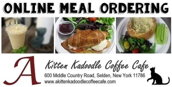 A Kitten Kadoodle Coffee Cafe